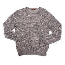 7 FOR ALL MANKIND Men's Alpaca, Linen Blend Crew Neck Thin Sweater/Jumper SIZE M