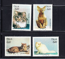 Cats Italian Stamps