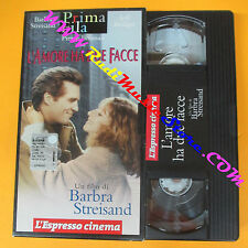 VHS film L'AMORE HA DUE FACCE Barbra Streisand Bridges L'ESPRESSO (F39) no dvd