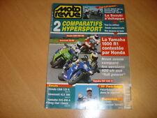Moto revue N° 3312 CBR 900 RR / ZX-9R / YZF 1000 R1