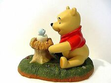 """DISNEY - POOH AND FRIENDS  """"WELCOME LITTLE ONE"""" FIGURINE"""