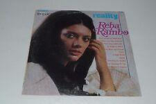Reba Rambo~Reality~Impact Records RWS 3027~Christian~Xian~FAST SHIPPING