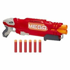 Nerf N-Strike Elite Double Breach Blaster Toy Includes 2 Mega Whistler darts