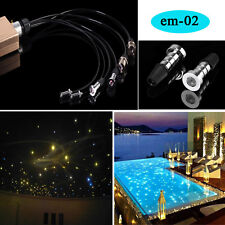 underwater use IP68 swimming pool light optic fiber light for decoration