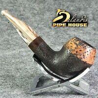 BALANDIS original Handmade tobacco smoking pipe MARCAN AVENTADOR Briar wood .
