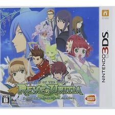 NEW Nintendo 3DS Tales Of The World REVE UNITIA Japan import Free Shipping F/S