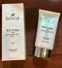 NIB Boscia BB Cream Light Broad Spectrum SPF 27 PA++ 1.75 oz Self Adjusting 6/19