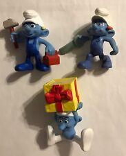 2011 McDonald's - Smurfs - Set of 3    #202