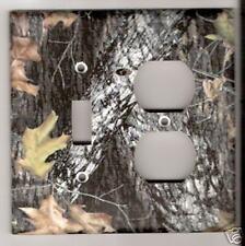 Mossy Oak Break Up Combo Light Switch Plate Cover