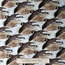 Riverwoods Fabric - Nostalgic Hunt Flying Pheasant - Debbie Field Cotton 32""