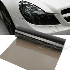 "12"" x 60"" Light Smoked Tint Car Headlight Protector Film Vinyl Glossy 1ft x 5ft"