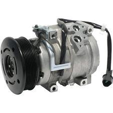 NEW A/C Compressor-10S17C Assembly fits 01-06 Mitsubishi Montero 3.8L-V6