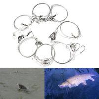 3 bolsa de acero inoxidable pesca aparejos alambre 5cuerdas anti-devanado gan*ws