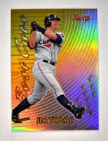 2017 Bowman's Best 1997 Best Cuts Gold Refractor #97BC-JT Jim Thome /50