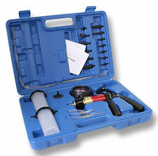 S-XC1VP Universal Hand Held Vacuum Pump Brake Bleeder Pressure Tool Set Satra
