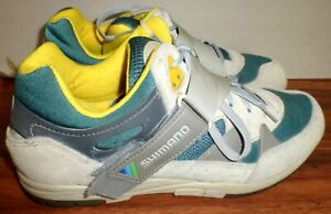 VINTAGE STYLE MENS SHIMANO SPD SH-C070 CYCLING SHOES SIZE 45 OR US 12