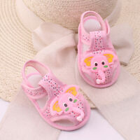 KQ_ Elephant Pattern Summer Girls Boys For Baby Sole Shoes Toddler Sandals Boy