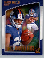 2018 Donruss Rookie Gridiron Kings NFL Card Base Insert or Studio Pick From List