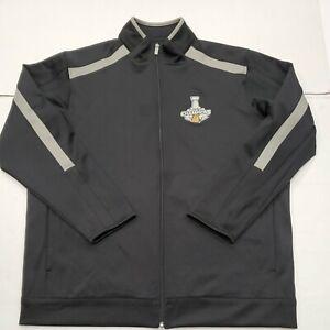 Chicago Blackhawks 2015 Stanley Cup Champions Zip Up Sweatshirt Jacket XXL New