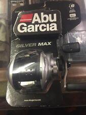ABU GARCIA SMAX3 SILVER MAX LOW PROFILE BAITCASTING REEL NEW