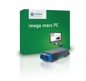 Hella Gutmann Diagnosegerät / OBD Tester mega macs PC Vollversion