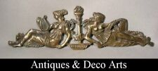 Antique Bronze Victorian Ornament with 2 Ladies