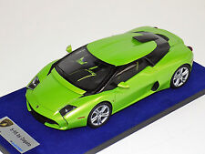 1/18 Looksmart MR Lamborghini 5-95 Zagato in Itacha Green Silver wheels Alcantar