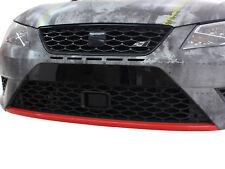 D045 Spoilerschwert Folie Rot 3M 1080 passgenau für Seat Leon 5F FR SC ST Cupra
