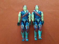Crimson Tomax & Xamot Twins Arah Figurine Gi Joe Action Figure Hasbro 1985 Toy