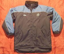 TORINO 2006 WINTER OLYMPIC ASICS blue HOODED JACKET L giaccone imbottito