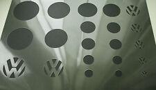 VW Volkswagen Logo 9 Diferentes Tamaños Coche aerógrafo de plantilla pintura paso a paso
