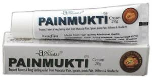 Ayushakti Painmukti 35g / 1.2oz Ayurvedic Cream Indian Herbal