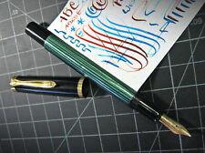 vtg Pelikan M400 Fountain Pen Flex 14K Gold Nib vtg West Germany Very Clean
