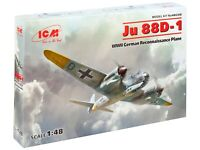 ICM 1/48  Ju 88D-1 WWII German Recon. Plane