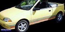 WEYER Cabrio Windabweiser Windschott Suzuki Swift Geo Metro