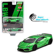 Mini GT 1:64 LB WORKS Lamborghini Huracan Version 2 (Green) #149 USA Exclusive