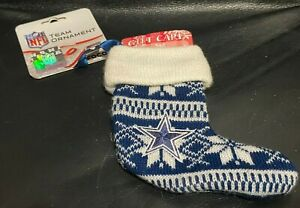 NEW Indianapolis Colts NFL Team Christmas Ornament Stocking holiday football
