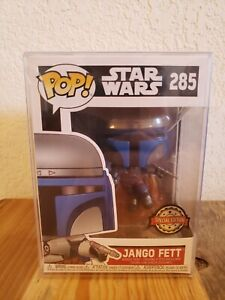 Funko POP! Star Wars Jango Fett #285 Special Edition SHIPS ASAP SOFT PROTECTOR