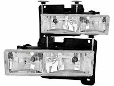 For 1988-1989 GMC R2500 Headlight Set Anzo 31983KD Headlight Assembly