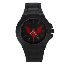 Batman Beyond Symbol Watch with Metal Band Black