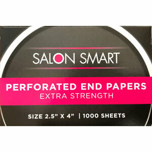Salon Smart Professional Perforated Ends Papers 1000 sheets AUS SELLER PERMING