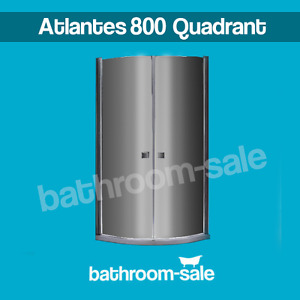 Atlantes 800 Bathroom Quadrant Clean Plus (Single Side) Chrome | RRP: £399