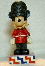 "Jim Shore Disney Traditions ""Greetings From England"" Mickey Mouse #4043630 Nib"