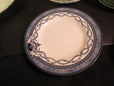 """Queen's China Historic Royal Palaces 8-1/2"""" Salad Plate Blue & White"""