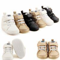 prewalker antidérapantes fond mou chaussures de bébé du cuir martin bottes