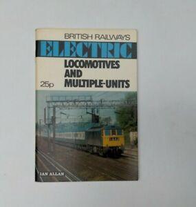 abc Ian Allen British Railways Electric Locomotives & Multiple Units 1973
