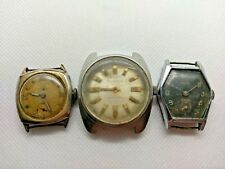 Lot 3 x Used Swiss Watches - Caravelle, Lavina - Parts or Repair (Lot 5)