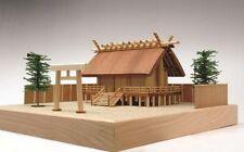 Woody JOE Wooden Building Model Kit 1/150 Jinmei Building Shrine Laser Cut