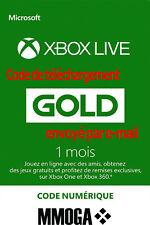 Abonnement Xbox Live Gold 1 Mois - Xbox Live - Code jeu à télécharger - FR