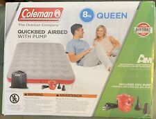 Coleman QUEEN QuickBed Single High Air Mattress with Pump - Open Box, Unused*